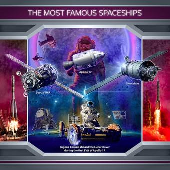 Garsūs kosminiai laivai.