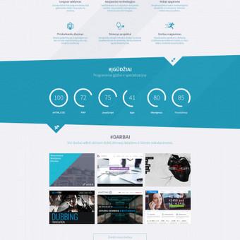 Viruišis.lt unikalus svetainės dizainas www.viruisis.lt