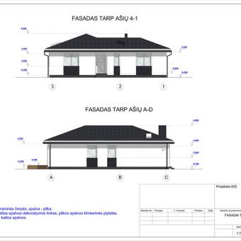 Architektas, projektavimas / RN projektai / Darbų pavyzdys ID 532963