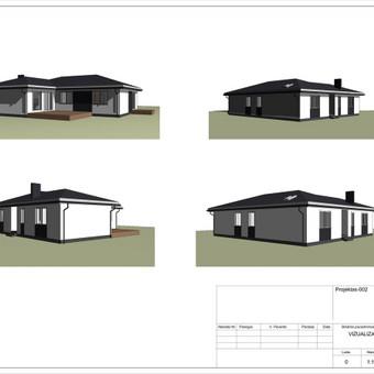 Architektas, projektavimas / RN projektai / Darbų pavyzdys ID 532967