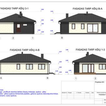 Architektas, projektavimas / RN projektai / Darbų pavyzdys ID 532981
