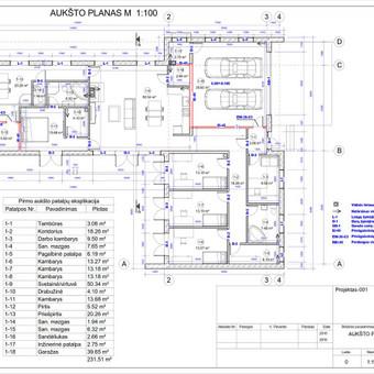 Architektas, projektavimas / RN projektai / Darbų pavyzdys ID 532993