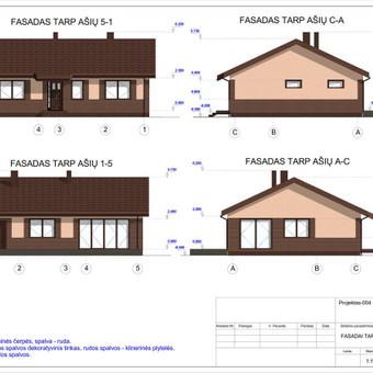 Architektas, projektavimas / RN projektai / Darbų pavyzdys ID 533001