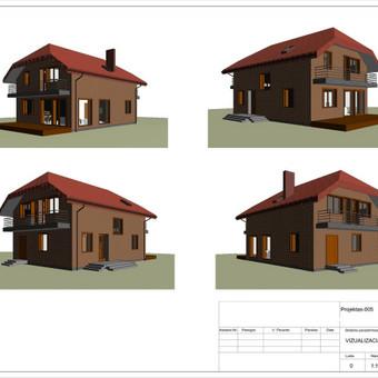 Architektas, projektavimas / RN projektai / Darbų pavyzdys ID 533009