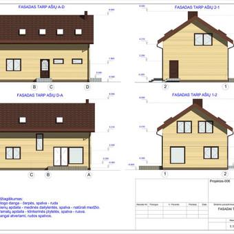 Architektas, projektavimas / RN projektai / Darbų pavyzdys ID 533013