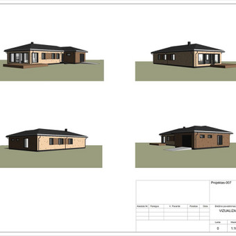 Architektas, projektavimas / RN projektai / Darbų pavyzdys ID 533023