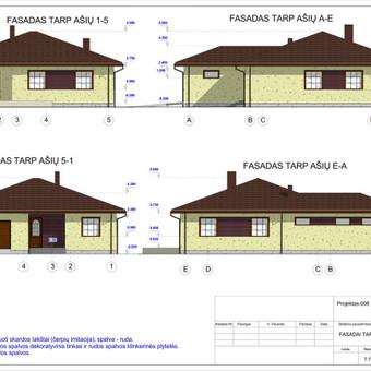 Architektas, projektavimas / RN projektai / Darbų pavyzdys ID 533027