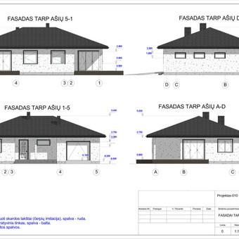 Architektas, projektavimas / RN projektai / Darbų pavyzdys ID 533039
