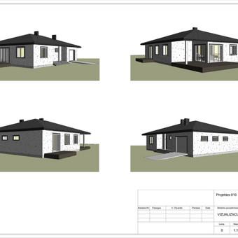 Architektas, projektavimas / RN projektai / Darbų pavyzdys ID 533041