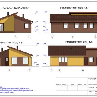Architektas, projektavimas / RN projektai / Darbų pavyzdys ID 533045