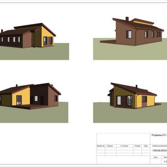 Architektas, projektavimas / RN projektai / Darbų pavyzdys ID 533047