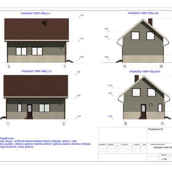Architektas, projektavimas / RN projektai / Darbų pavyzdys ID 533051