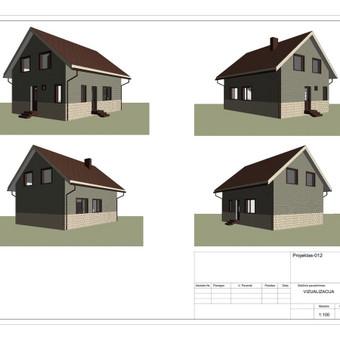 Architektas, projektavimas / RN projektai / Darbų pavyzdys ID 533053