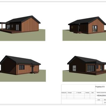 Architektas, projektavimas / RN projektai / Darbų pavyzdys ID 533059
