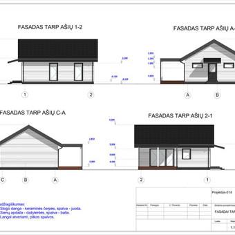 Architektas, projektavimas / RN projektai / Darbų pavyzdys ID 533065