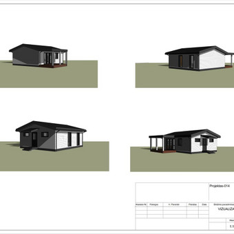 Architektas, projektavimas / RN projektai / Darbų pavyzdys ID 533067