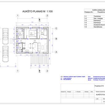 Architektas, projektavimas / RN projektai / Darbų pavyzdys ID 533069