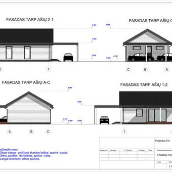 Architektas, projektavimas / RN projektai / Darbų pavyzdys ID 533071