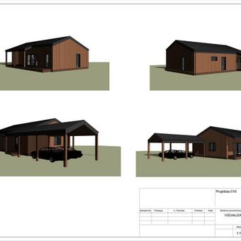 Architektas, projektavimas / RN projektai / Darbų pavyzdys ID 533079