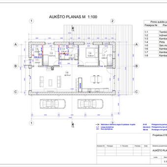 Architektas, projektavimas / RN projektai / Darbų pavyzdys ID 533283
