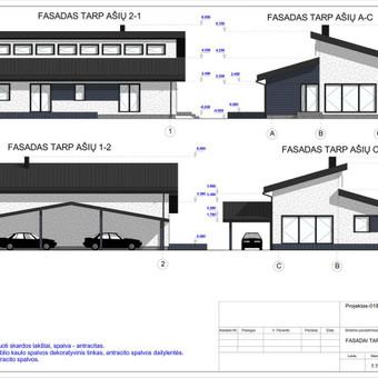 Architektas, projektavimas / RN projektai / Darbų pavyzdys ID 533285