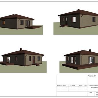 Architektas, projektavimas / RN projektai / Darbų pavyzdys ID 533293