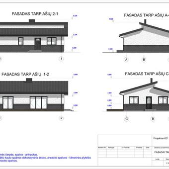 Architektas, projektavimas / RN projektai / Darbų pavyzdys ID 533303