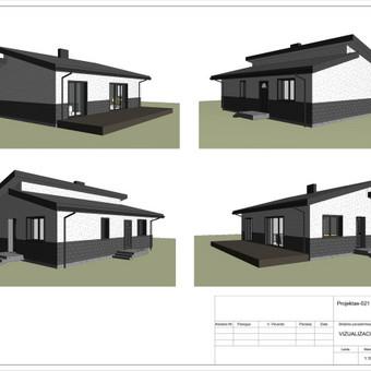 Architektas, projektavimas / RN projektai / Darbų pavyzdys ID 533305