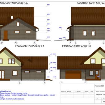 Architektas, projektavimas / RN projektai / Darbų pavyzdys ID 533311