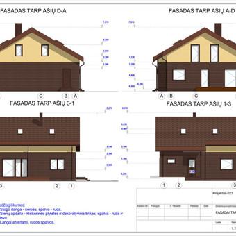 Architektas, projektavimas / RN projektai / Darbų pavyzdys ID 533373