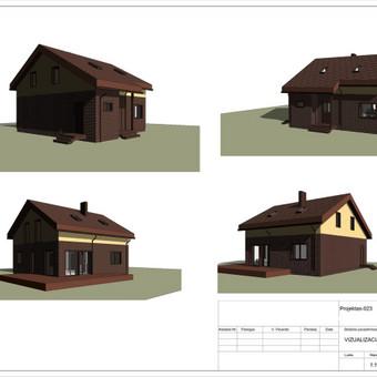 Architektas, projektavimas / RN projektai / Darbų pavyzdys ID 533375