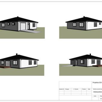 Architektas, projektavimas / RN projektai / Darbų pavyzdys ID 533381