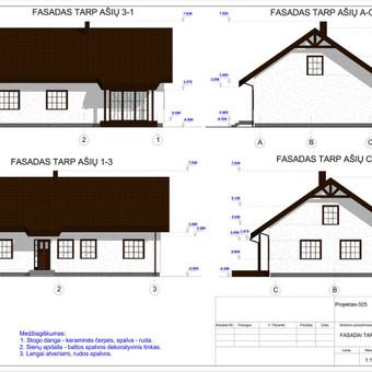 Architektas, projektavimas / RN projektai / Darbų pavyzdys ID 533385