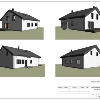 Architektas, projektavimas / RN projektai / Darbų pavyzdys ID 533393