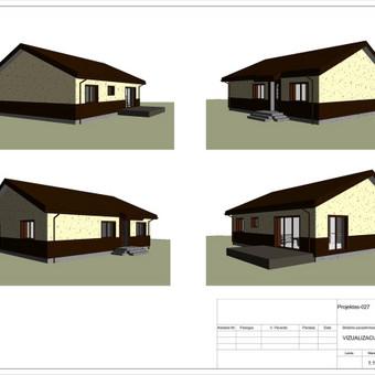 Architektas, projektavimas / RN projektai / Darbų pavyzdys ID 533399