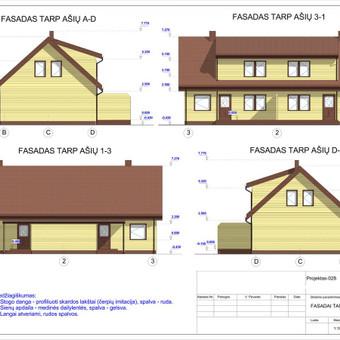 Architektas, projektavimas / RN projektai / Darbų pavyzdys ID 533405