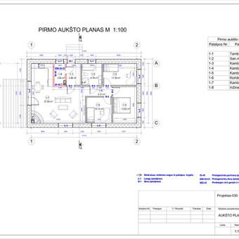 Architektas, projektavimas / RN projektai / Darbų pavyzdys ID 533429