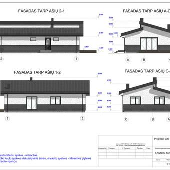 Architektas, projektavimas / RN projektai / Darbų pavyzdys ID 533431