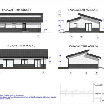 Architektas, projektavimas / RN projektai / Darbų pavyzdys ID 533903