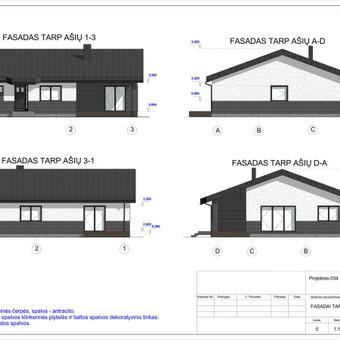 Architektas, projektavimas / RN projektai / Darbų pavyzdys ID 533915