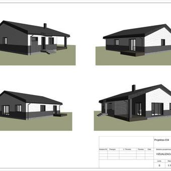 Architektas, projektavimas / RN projektai / Darbų pavyzdys ID 533917