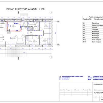 Architektas, projektavimas / RN projektai / Darbų pavyzdys ID 533919