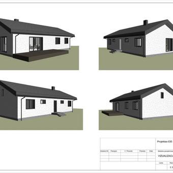 Architektas, projektavimas / RN projektai / Darbų pavyzdys ID 533923