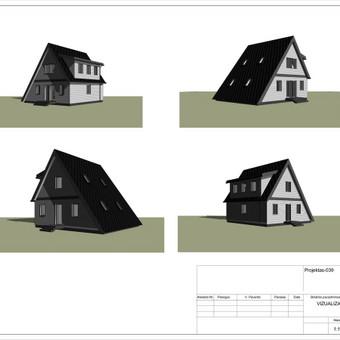 Architektas, projektavimas / RN projektai / Darbų pavyzdys ID 533951