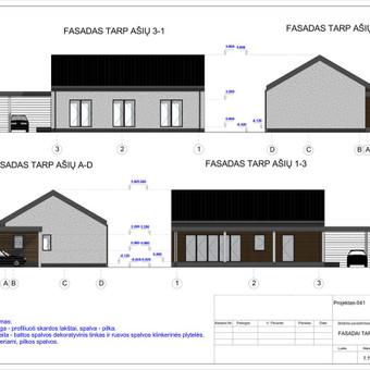 Architektas, projektavimas / RN projektai / Darbų pavyzdys ID 533961