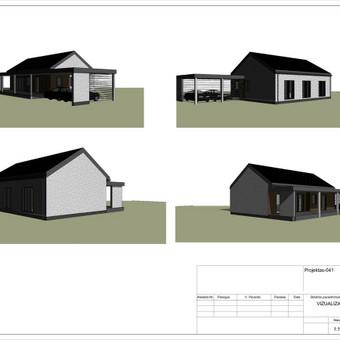 Architektas, projektavimas / RN projektai / Darbų pavyzdys ID 533963