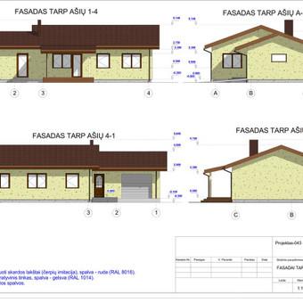 Architektas, projektavimas / RN projektai / Darbų pavyzdys ID 533973