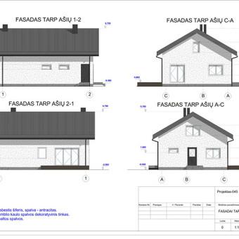 Architektas, projektavimas / RN projektai / Darbų pavyzdys ID 533985