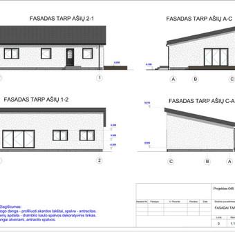 Architektas, projektavimas / RN projektai / Darbų pavyzdys ID 533991