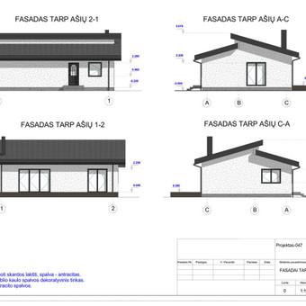 Architektas, projektavimas / RN projektai / Darbų pavyzdys ID 533997